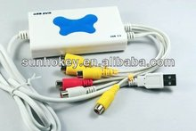 4 Channel USB 2.0 DVR Video Audio Capture Box/Card CCTV USA