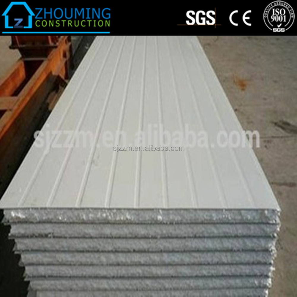 White color cheap price polystyrene panel/roof paneles sandwich for prefab house