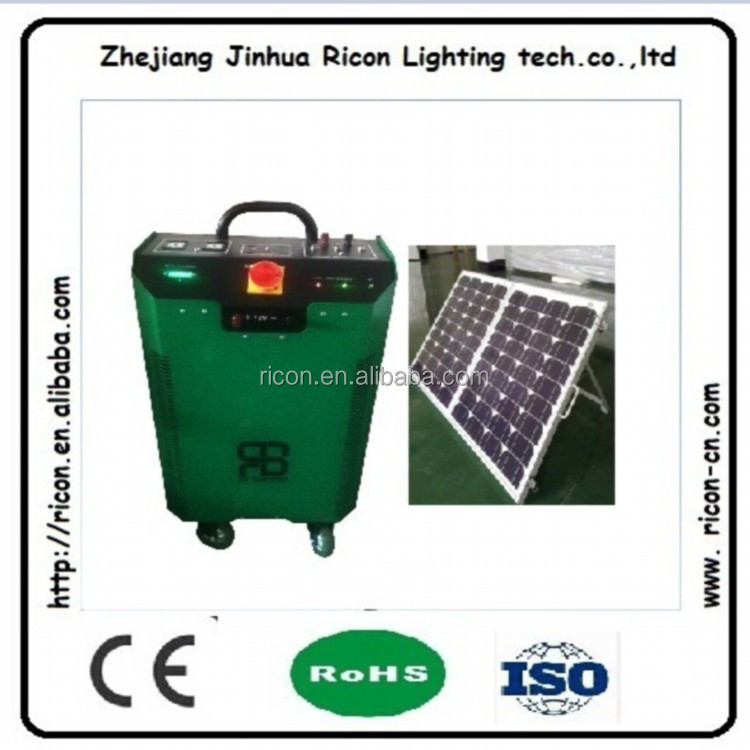 complete full power 300w portable solar energy system with inverter/controller/battery/panel