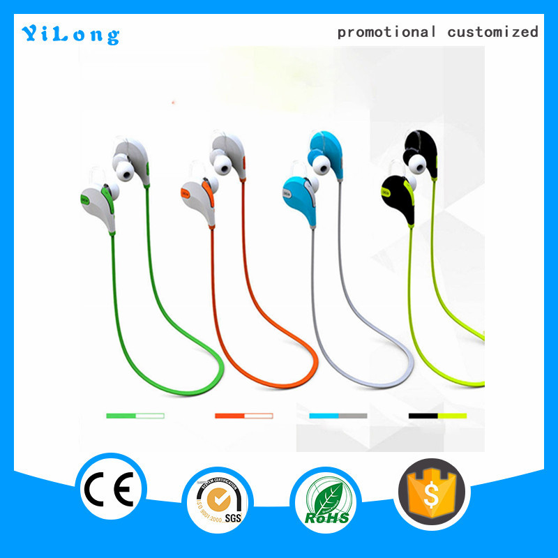 2016 Enjoy music anytime wireless sport stereo bluetooth headset
