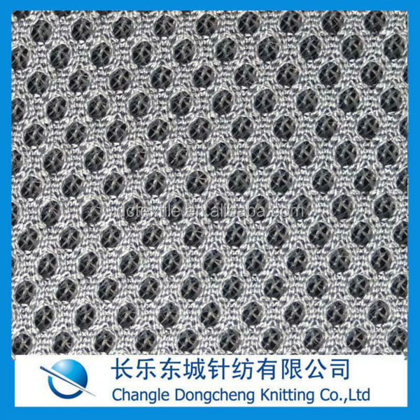 100 polyester sandwich mesh fabric for chair cussioncsteering wheel cover