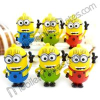 Cartoon Despicable Me 2 Shaped Style 32GB Memory USB Flash Drive Disk, 4GB 8GB 16GB 32GB