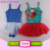 Girl Princess Ballet Tutu Gymnastics Skirted Leotard Professional Belly Dance Costume Pineapple Spaghetti Strap Baby Leotard