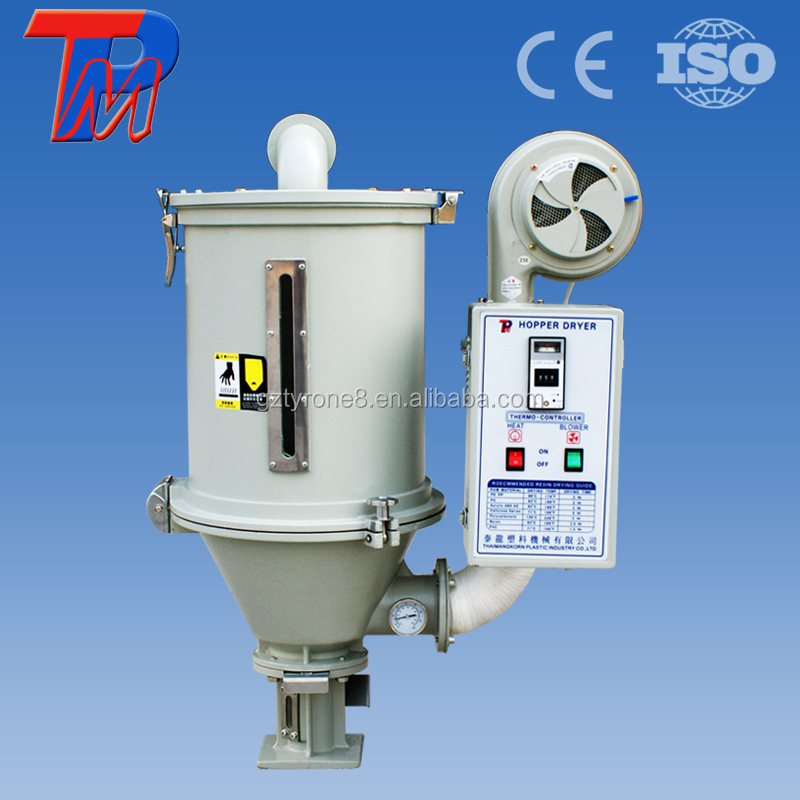 2015hot sale Schneider motor and standard hopper type plastic pellet dryer