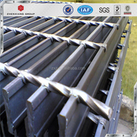 Galvanized Steel Grating_Plain type Metal Building Materials Hot Dipped 32 x 5mm Galvanized Steel Grating