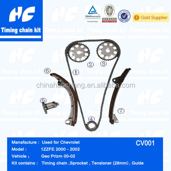 Timing chain kit used for CHEVROLET Geo Prizm