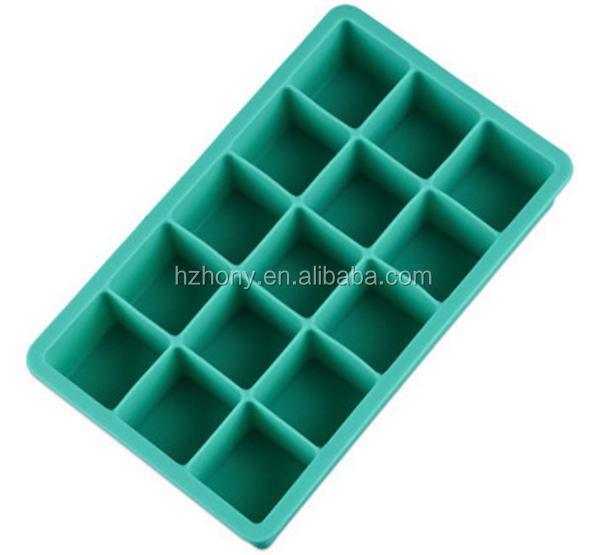 Silicone Ice Cube Trays -4 Piece Premium Food Grade Silicone Ice Tray Molds