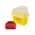 Dailymag FDA Hospital Use 2L Yellow Medical Waste Disposal Sharps Container With Lid Cover