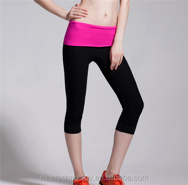 Wholesale Professional Teen Fitness Yoga Pants, Young Girl Sport Wear