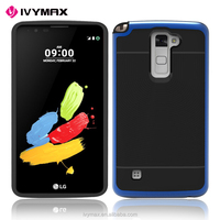 IVYMAX New Design Multi Color Slim Fit Armor Combo Case Cover For LG Stylo2 plus/MS550 (T-Mobile)Phone Cases