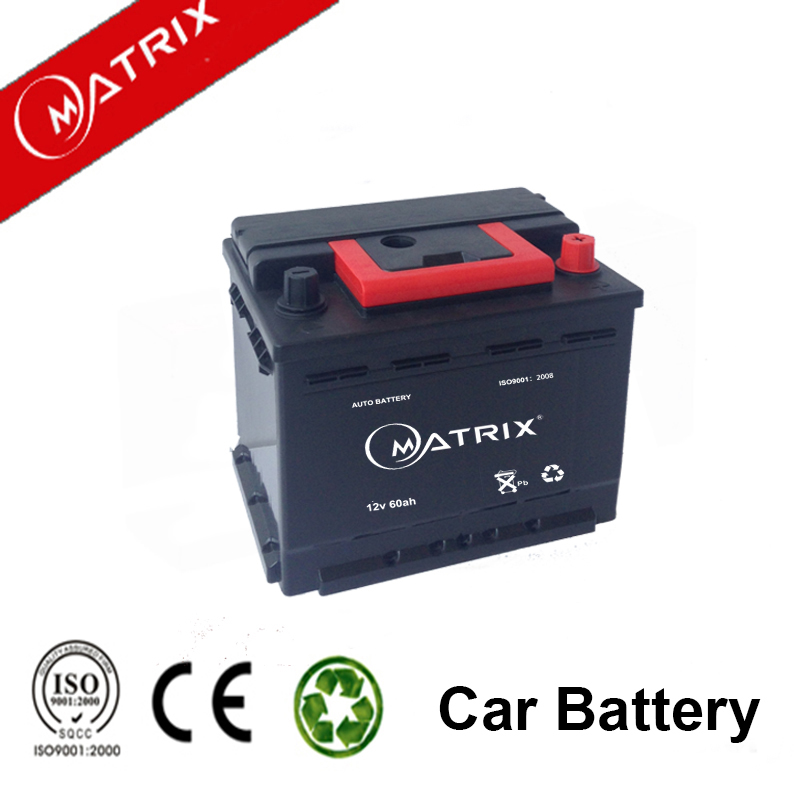 DIN 12v 60ah auto power car battery with cheap price