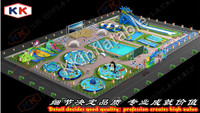 Inflatable water park projects , Cheap inflatable water theme park