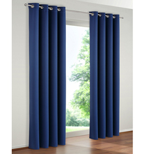 luxury blackout curtain and solid color lightout living room window curtain