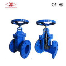 Soft seated EPDM wedge gate valve/ductile iron gate valve/safe rubber plated disc