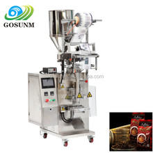 automatic package coarse salt small sachets coffee powder filling packaging machine