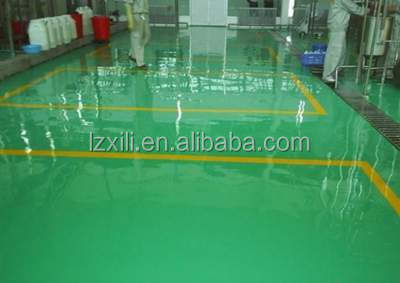 High strength, wear resistance scratch resistant floor coating