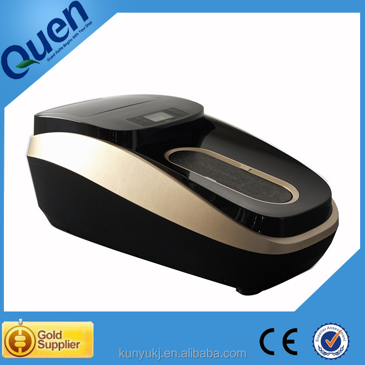 Automatic Shoe Cover ~ Automatic shoe cover machine sole cleaning