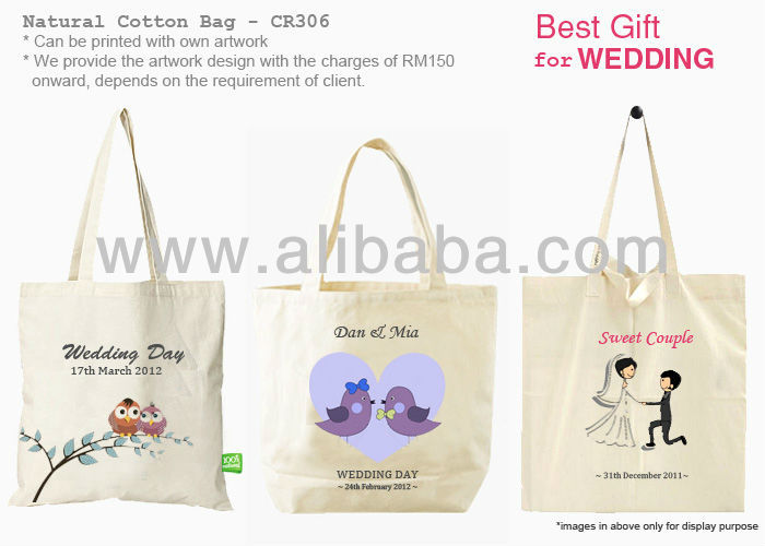 Wedding Cotton Bag