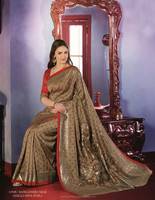 DESIGNER ELEGANT BOLLYWOOD EXCLUSIVE COLLECTIONS OF BHAGALPURI SAREES