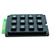 4X3 Matrix Keyboard Keypad Module with <strong>12</strong> Keys 43 Plastic Keys Switch