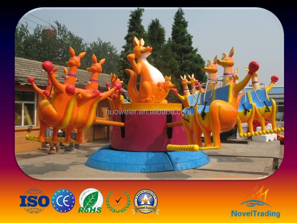 Factory price Good Quality Amusement rides Jump Kangaroo/horse ride for sale