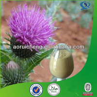 Factory supply milk thistle seed extract 80% silymarin capsule