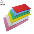 Hot Selling Colored A4 Plush Towel/Plush Eva for craftwork