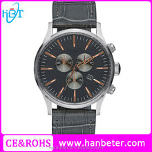 Cheap unbranded watches with water resistant 3 bar japanese quartz genuine leather strap
