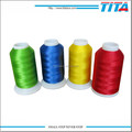 High sheen polyester thread or durable embroidery and high speed machine