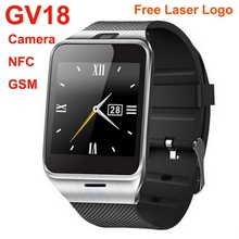2015 new product GSM Android NFC quad band touchscreen mobile phone watch