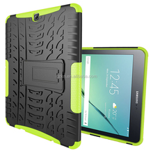 For Samsung Galaxy tab s2 T810 hybrid defender case with kickstand