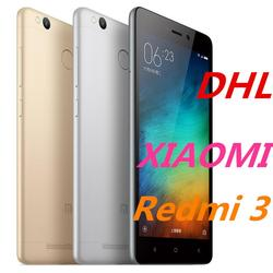 "Original xiaomi Redmi 3 2G DDR RAM 16G ROM Metal Body 4100 mAh Snapdragon 616 Octa Core 5"" 1280*720 FDD LTE Smart Mobile Phone"