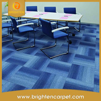 waterproof office pvc backing tile carpet