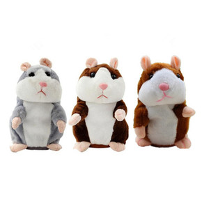 Talking Hamster Mouse Pet New Christmas gift Plush talking hamster stuffed animals toy for kid