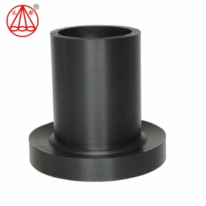 Jiangte floats and dredging/mining/coal/ industrial plant piping fittings flange adaptor hdpe butt welded pipe fitting