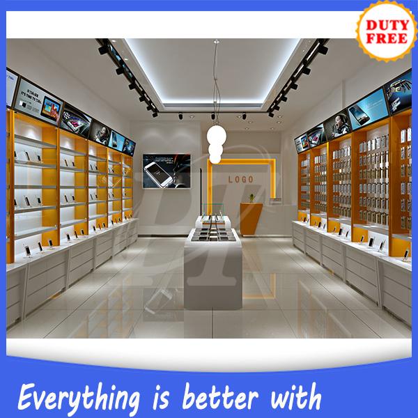 Retail Store Design Job Description: Mobile Shop Decoration Ideas Mobile Phone Store Furniture