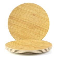 Lekoch bamboo food serving dinner <strong>plate</strong> , bamboo <strong>plate</strong>