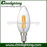 c35 filament led light e14 4w c35 led low power filament lamp c35 flickering candle bulbs e14