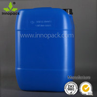 5 gallon plastic jerry can for fuel packing with narrow top