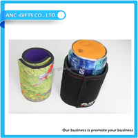 Hot Selling high quality low price factory direct wholesale neoprene material customize promotional drink electric can cooler