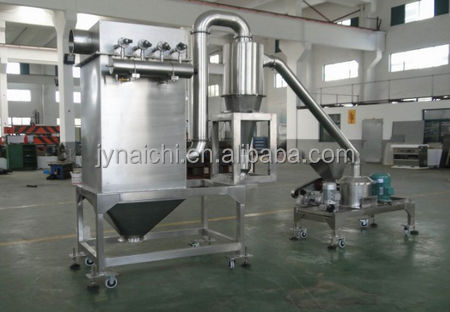 cyclone pulse dust absorption pulverizer sea food