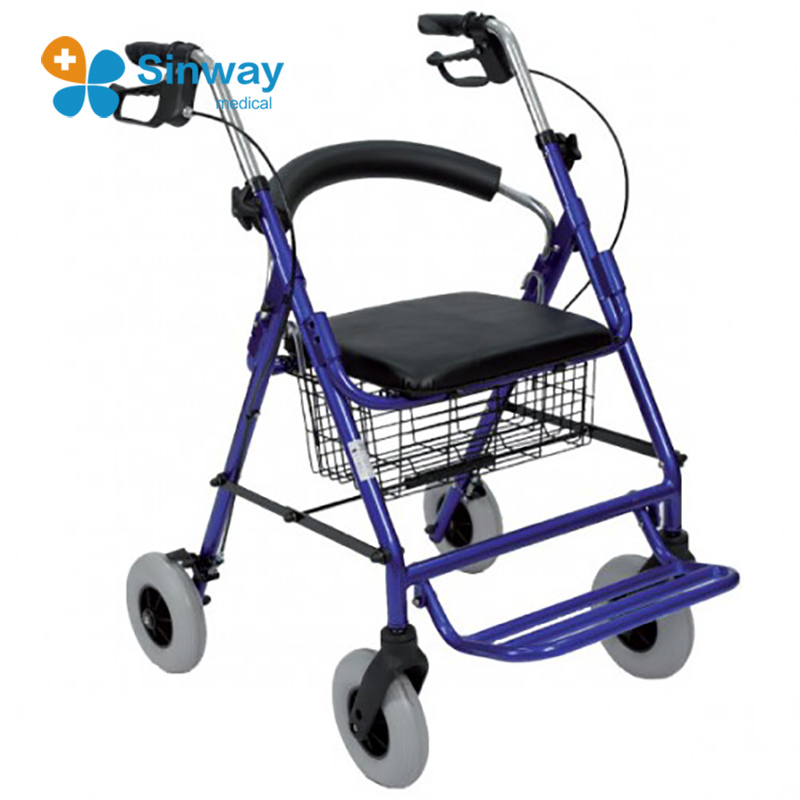 Mobility Aid Transfer Rollator Chair Walkers for Seniors