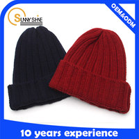 promotion women knitted hat beanie cap and hat winner