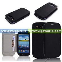 Flip PU Leather Phone Case for Samsung Galaxy S3 i9300