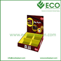 2013 High Quality POP Template Cardboard Display Box with Custom Logo for Bakery