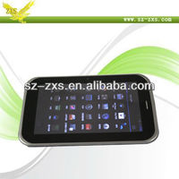 ZXS-A7-2G MTK6515 7 Inch OEM 1.2GHz RAM 1G/8GMID WCDMA 2G Phone Call Tablet PC/Android 4.0 Tablet PC Dual Cam+Bluetooth