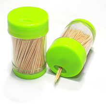 High quality cheaper price bamboo toothpick container