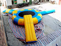 2014 cheap inflatable water bungee trampoline 5m