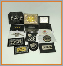 custom make metal name plate/metal letters for car emblem
