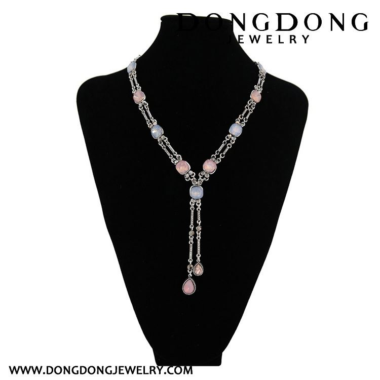 Top sale OEM quality 2017 chain alloy necklaces for girls